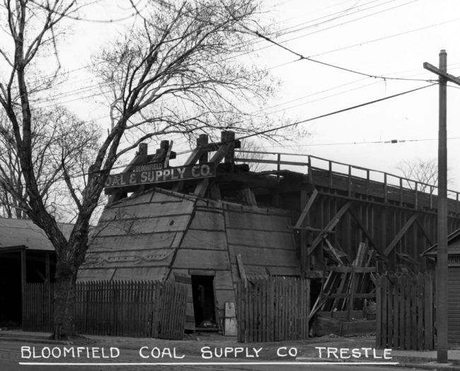 Bloomfield Coal Supply Co. Trestle